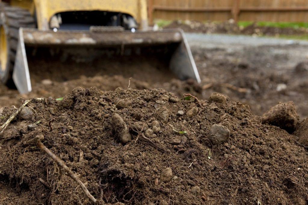graafmachine grond afgraven grondverzet