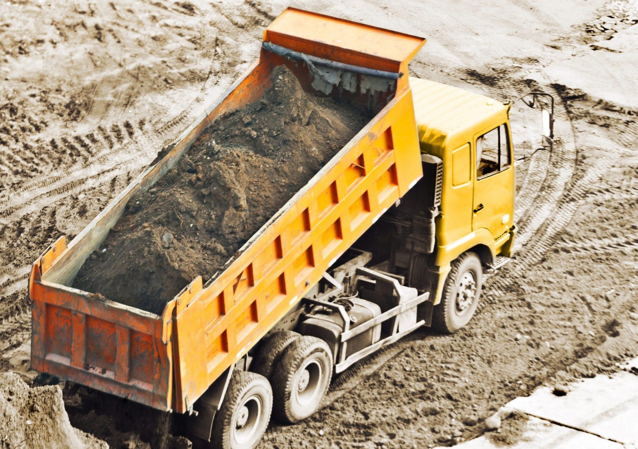 Grond verplaatsen zand kopen