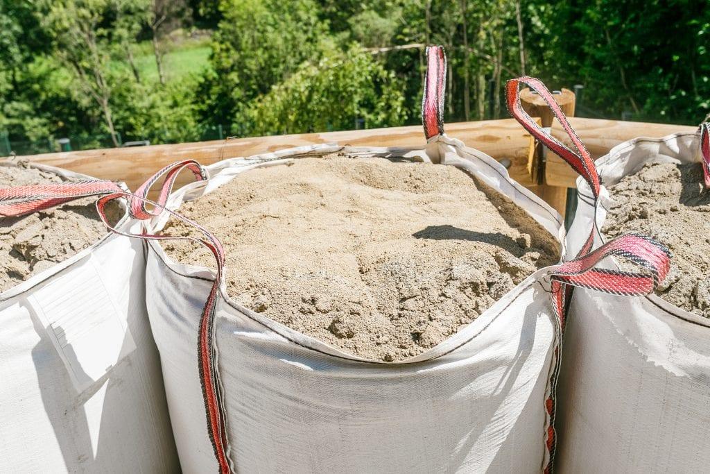 1 big bag kuub zand
