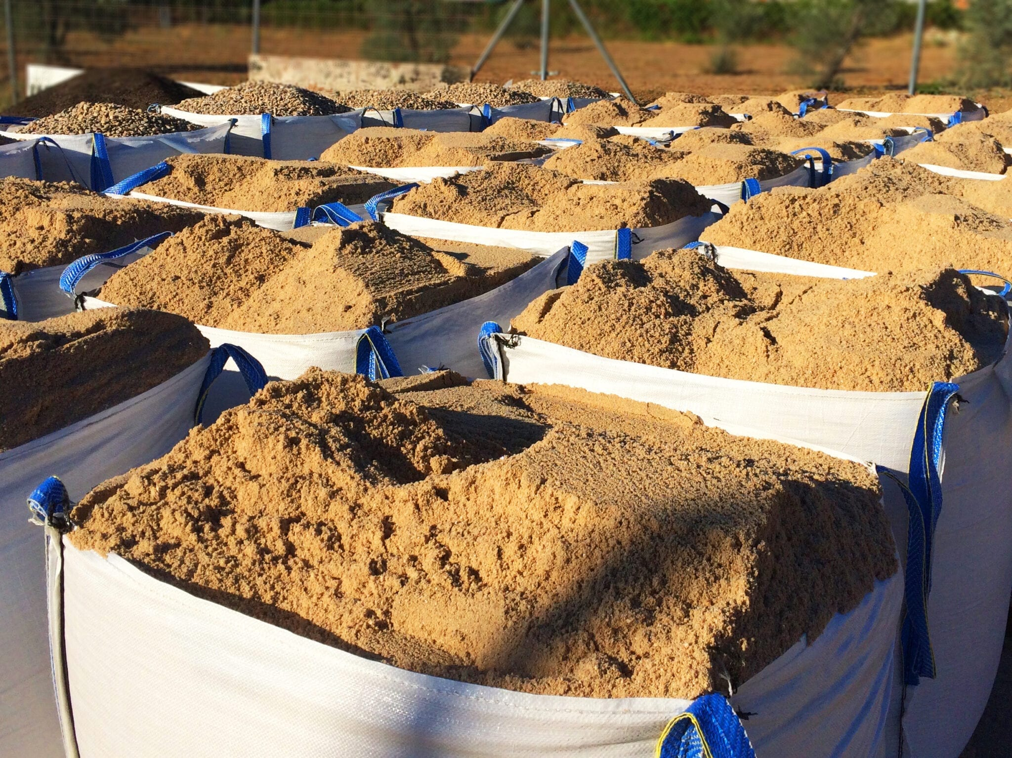 Big bags zand