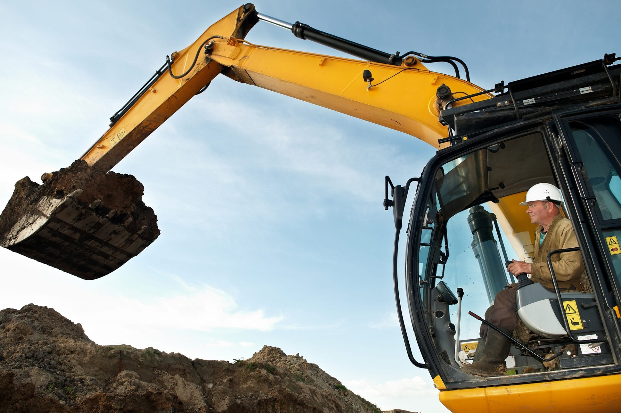 graafmachine grondverzet machinist afgraven ontgraven