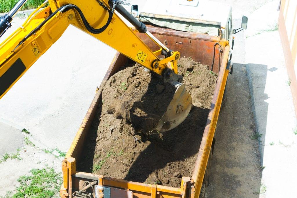 grond afvoeren leveren afgraven ontgraven grondverzet