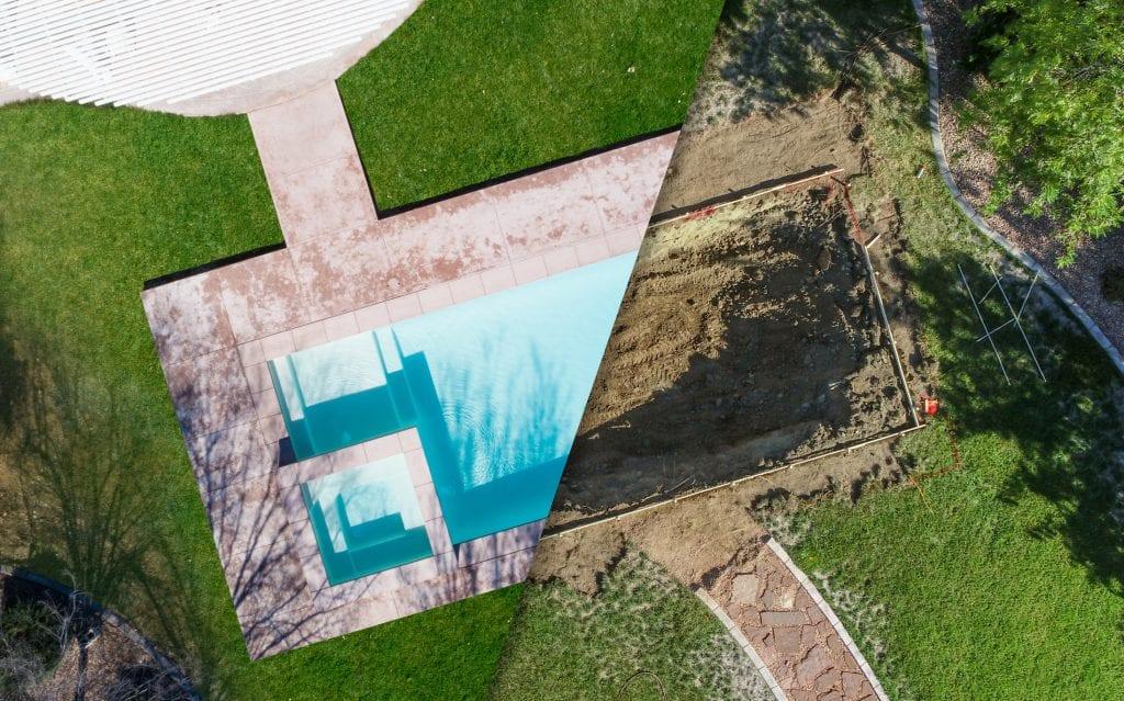 ingraven zwembad tuin kosten