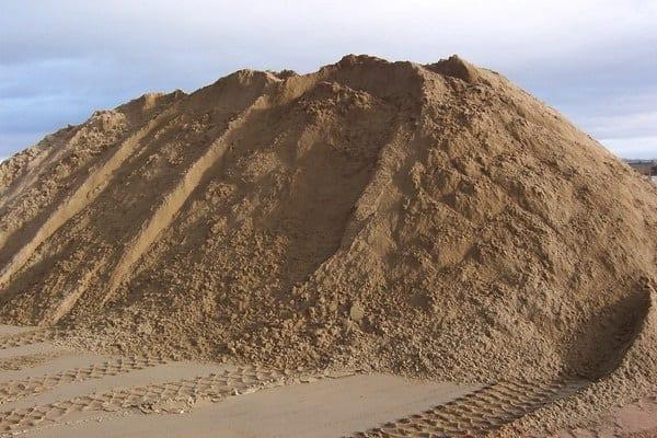 Hoeveel zand heb ik nodig