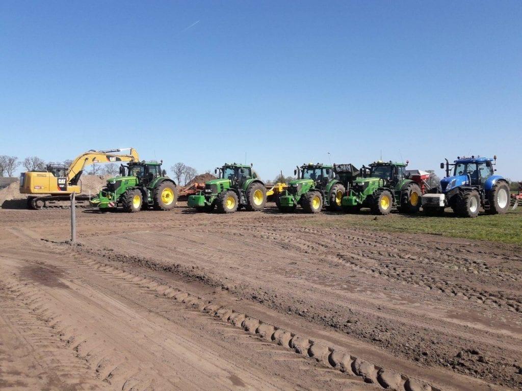 grondverzet groningen grond afgraven afvoeren