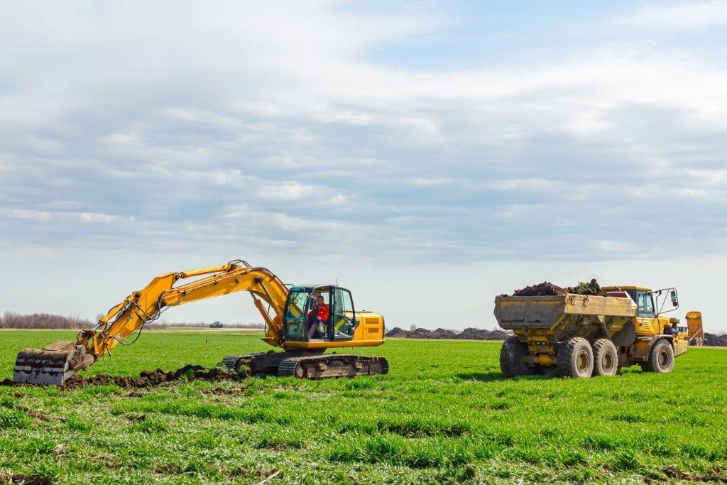grondverzet prijs grond afgraven afvoeren
