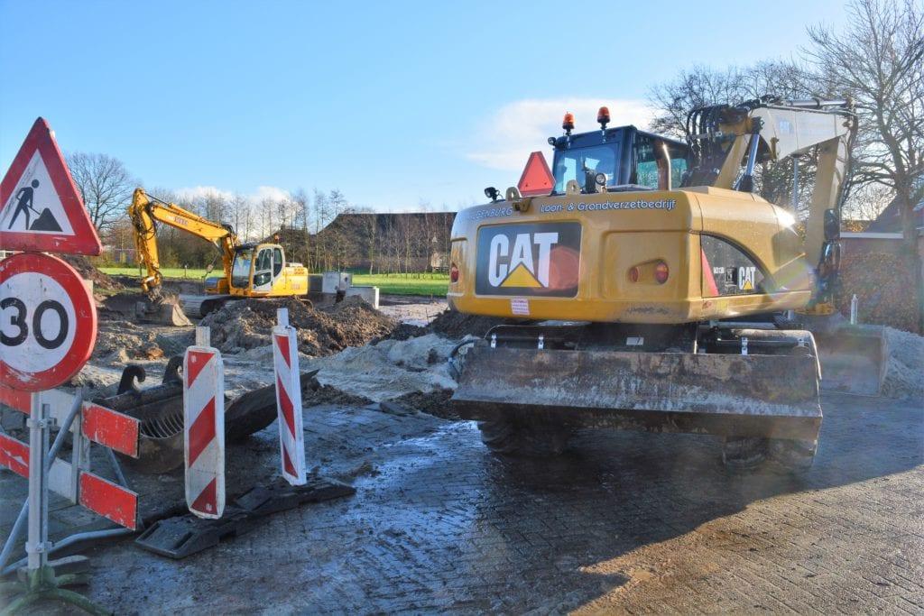 grondverzet straatwerk nieuwbouw