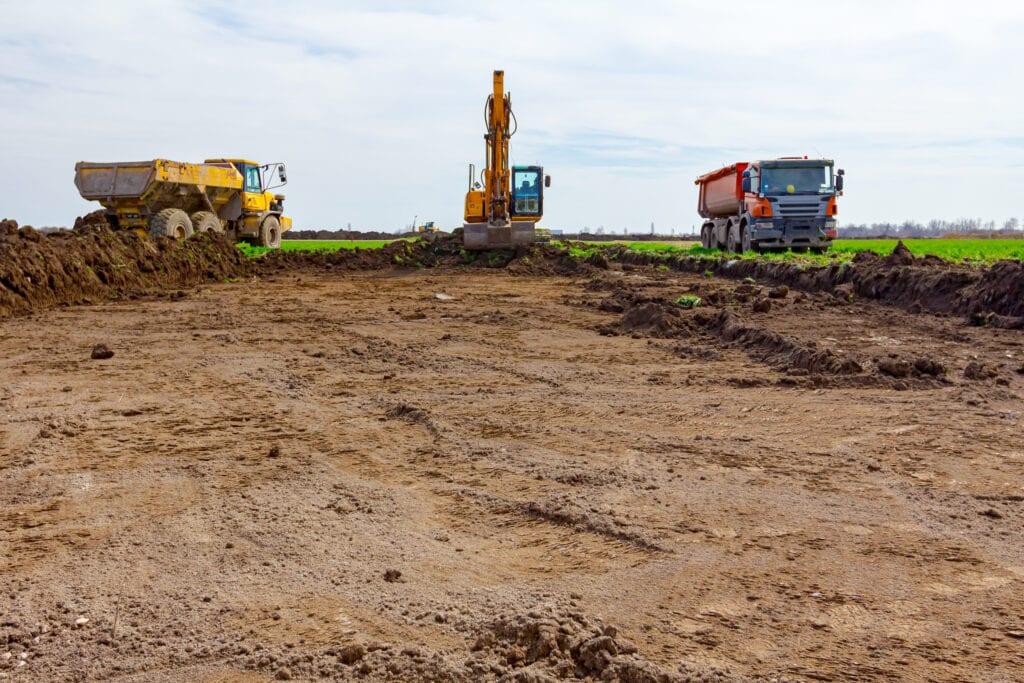 grond afgraven afvoeren prijs per m3 egaliseren bouwrijp