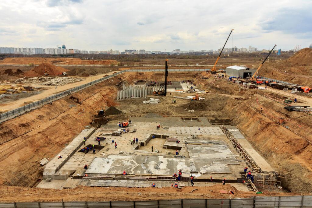 Kosten bouwput ontgraven