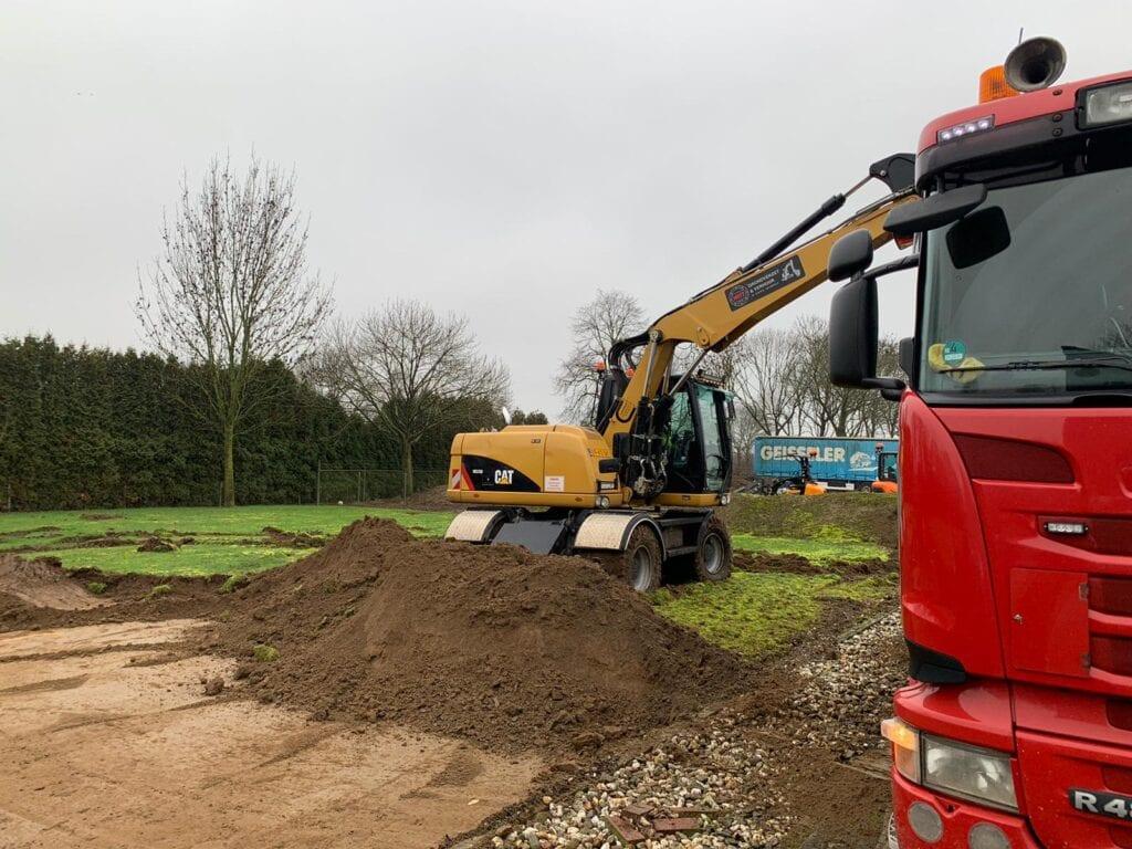 parkeerplaats grond bouwrijp maken nijmegen